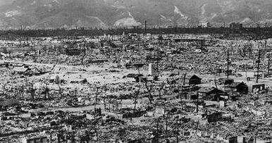 Hirošima uhlíka datovania