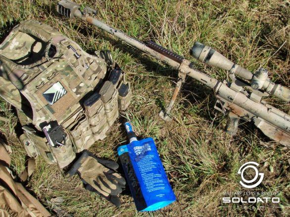 Foto: Základní balení filtru Sawyer Mini Filter. / SOLDATO Team