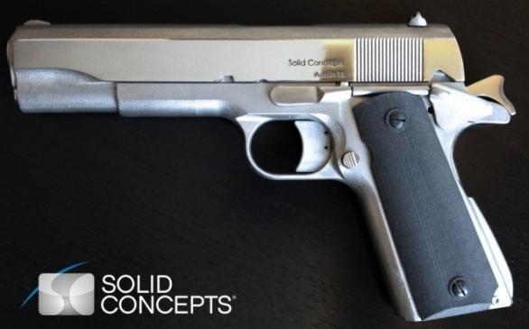 trojrozměrný tisk zbraň