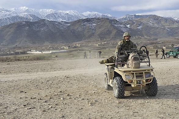 Foto: 601.skss v Afghánistánu; větší foto / 601. skss
