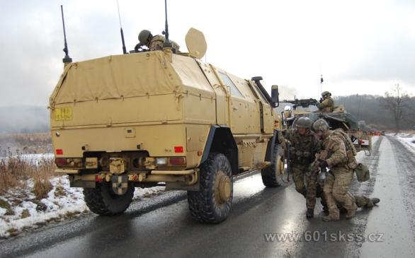 Foto: 601. skupina speciálních sil na cvičení Cobra-13. / 601.skss Foto: 601. skupina speciálních sil na cvičení Cobra-13. / 601.skss