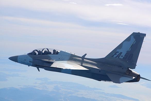 Foto: Základem stíhačky KFX se stane pravděpodobně lehký stíhač FA-50 Golden Eagle. / KAI