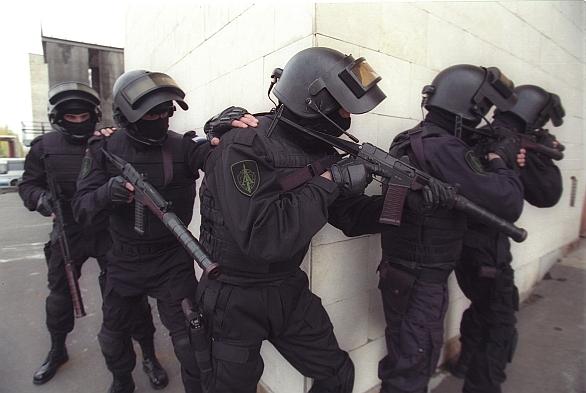 """Foto: Členové protiteroristické jednotky Spetsgruppa """"A"""" (Alpha Group) spadají pod Federální bezpečnostní službu (FSB). / SpetsnazAlpha"""