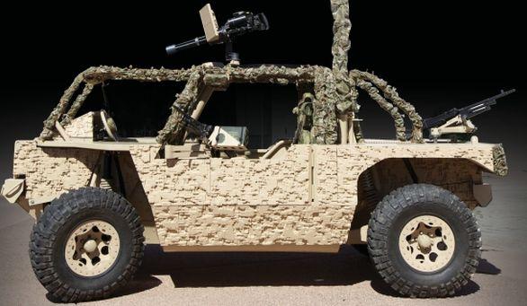vozidlo Hyena
