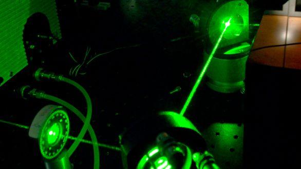 IED laser