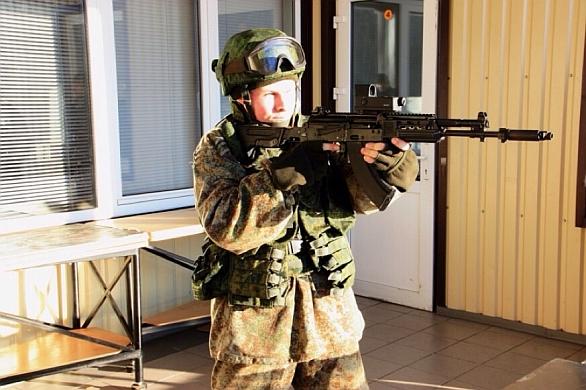 Foto: Útočná puška AK-103-4. /  Kalašnikov