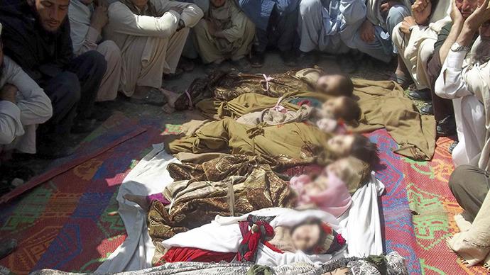 11 zabitých dětí v Afghánistánu