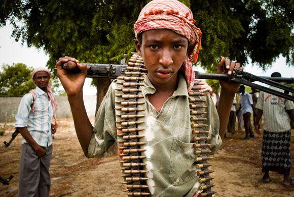 Dětští vojáci v Somálsku