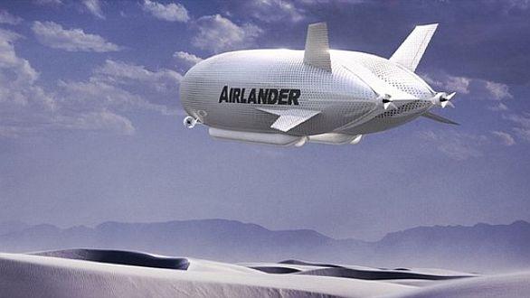 AirLander - nová vzducholoď společnosti Hybrid Air Vehicles