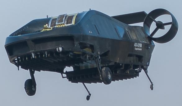 Foto: AirMule za letu. / Urban Aeronautics