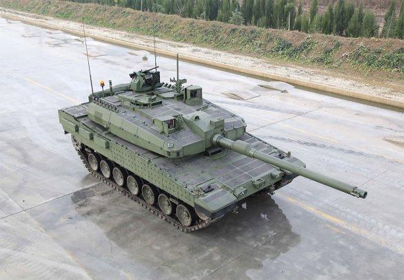 Foto: Turecký tank Altay. / Otokar