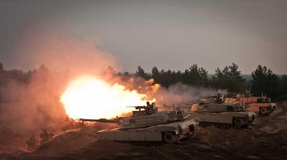 Cvičení v rámci operace Atlantic Resolve v Lotyšsku. Foto: U.S Army Europe