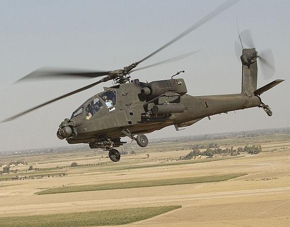 Foto: Do Česka přiletí i bitevní vrtulník AH-64 Apache. / US Army