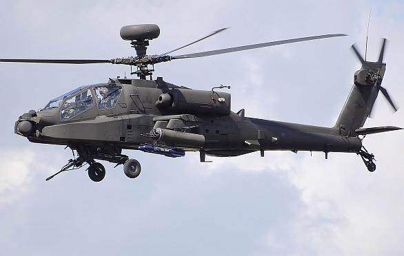 Foto: WAH-64D Apache Longbow  britské armády. / Public Domain