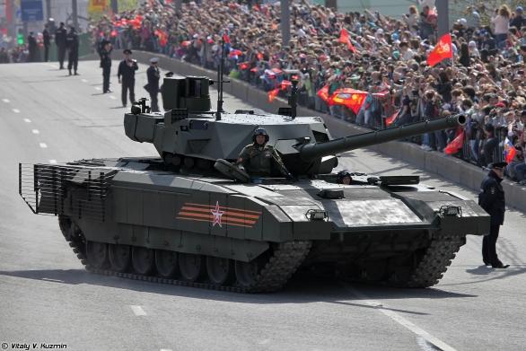 Foto: T-14 Armata; větší foto/ Vitaly V. Kuzmin, CC BY-SA 3.0