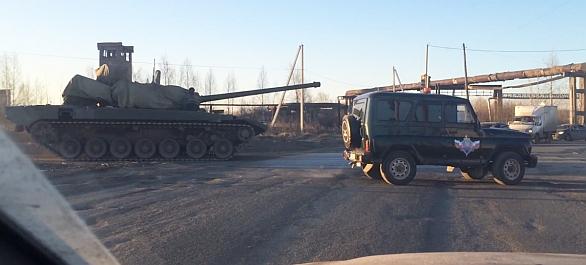 Foto: Tank T-14 Armata byl zachycen před několik dny na krátkém video záznamu; větší obrázek / YouTube