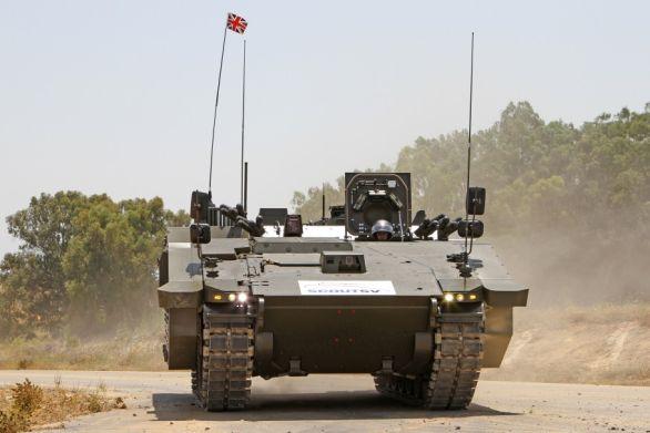 Foto: Special Vehicle pro Velko Británii vychází z vozidla ASCOD. / General Dynamics
