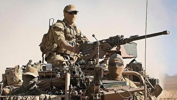 Foto: Australské speciální jednotky jsou nasazeny do bojů s ozbrojenci z ISIS. / Special Operations Command(SOCOMD)