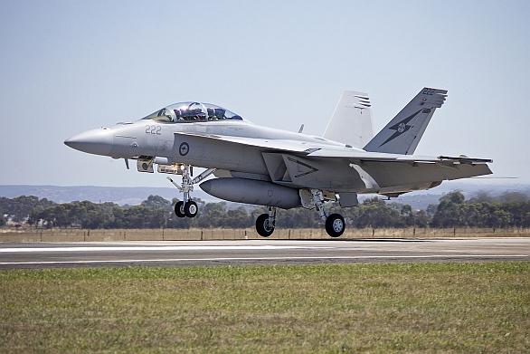Foto: Nad Irákem budou létat australské F/A-18E/F Super Hornets. / RoyalAustralian Air Force