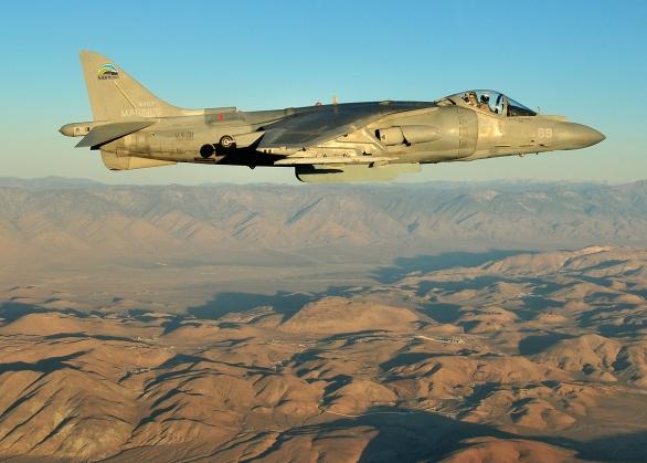 Foto: AV-8B Harrier bude sloužit u námořní pěchoty až do roku 2025; větší foto / Public Domain