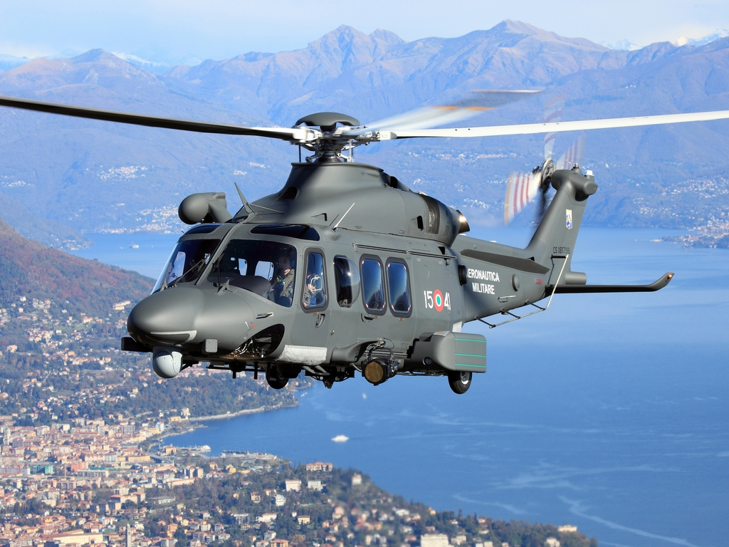 Foto: AW 139M italského letectva; větší foto / AgustaWestland