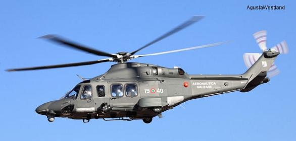 Foto: AW139M italského letectva. /  AgustaWestland