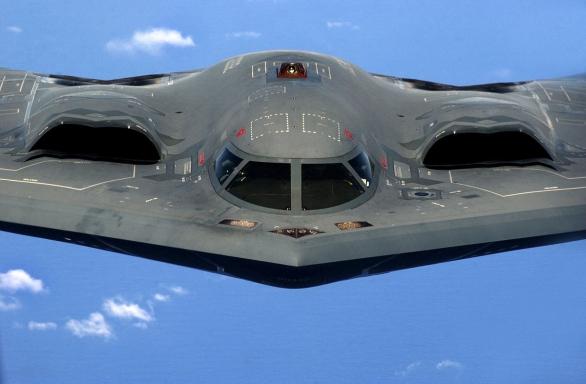 eden z důsledků Second Offset Strategy, která byla zahájena v roce 1973, bombardér B-2 Spirit