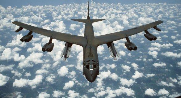 Foto: Boeing B-52 Stratofortress; ilustrační foto; větší foto / Public Domain