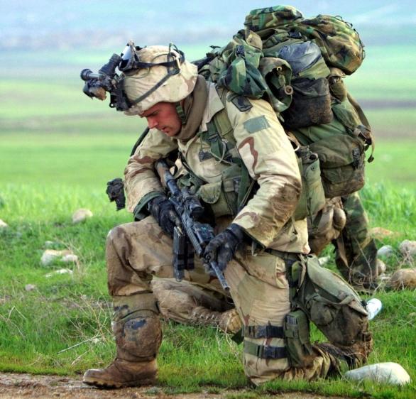 Batoh voják