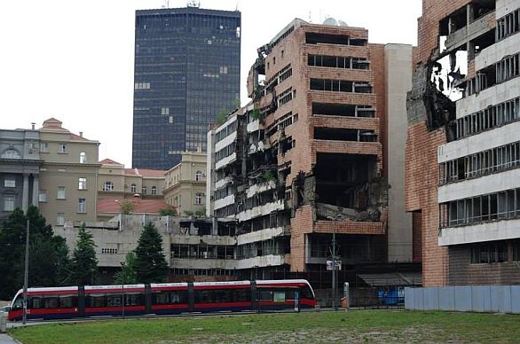 Budova ministerstva obrany a televize