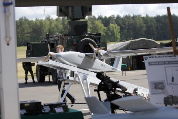 Foto: Taktické bezpilotní letadlo Los na cvičení ANAKONDA 2016; větší foto / WB Electronics