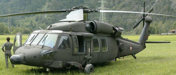 Foto: Rakouský UH-60M BlackHawk; větší foto / Österreichische Luftstreitkräfte
