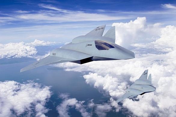 Foto: Letoun FA-XX podle firmy Boeing. / Boeing