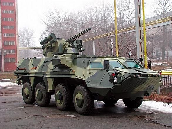 Obrněné transportéry BTR-4