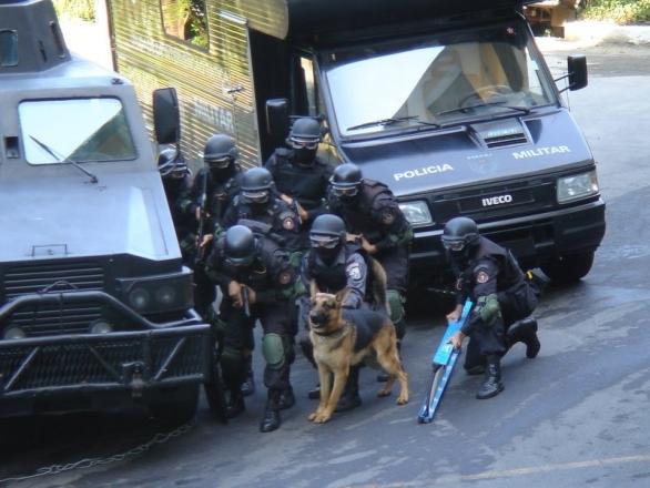 Foto: Výcvik speciální jednotky BOPE; ilustrační foto / Diário de um PM, CC BY 2.5