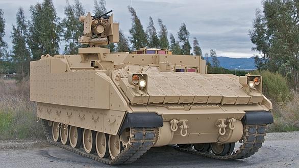 Foto: Vozidlo firmy BAE Systems nabízené pro program AMPV. Stroj vychází z nejnovější generace bojových vozidel pěchoty M3 Bradley. / BAE Systems