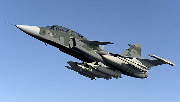 Foto: Brazilský Gripen NG, resp. FX-2. / Saab