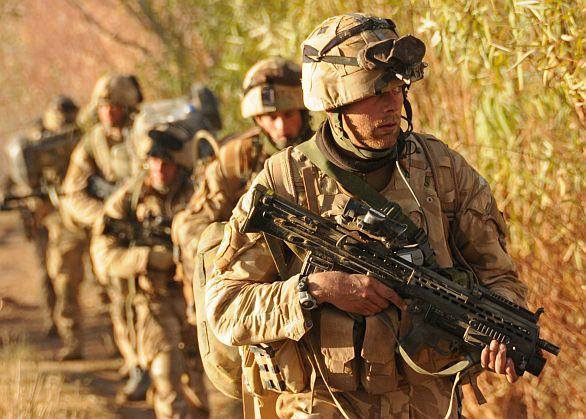 Foto: Britští vojáci v Hílmandu, ilustrační foto / UK Ministry of Defence