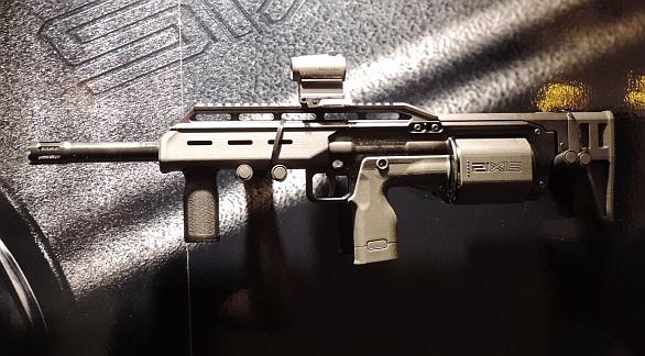 Foto: Brokovnice Six12 pod puškou AR-15. / Crye Precision