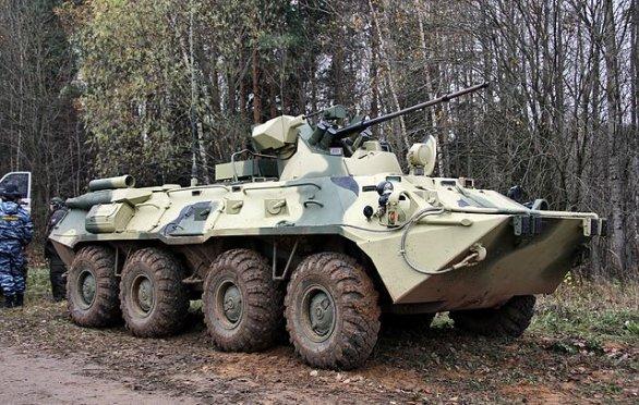 Foto: BTR-82A / Vitaly V. Kuzmin, CC BY-SA 3.0