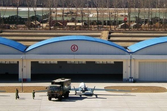 Foto: K dispozici je jen minim kvalitních fotografií čínského bezpilotního letadla BZK-005. / Čínský internet