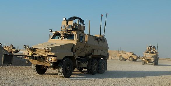 Foto: Vozidlo MRAP Caiman od firmy BAE Systems; větší foto / Public Domain