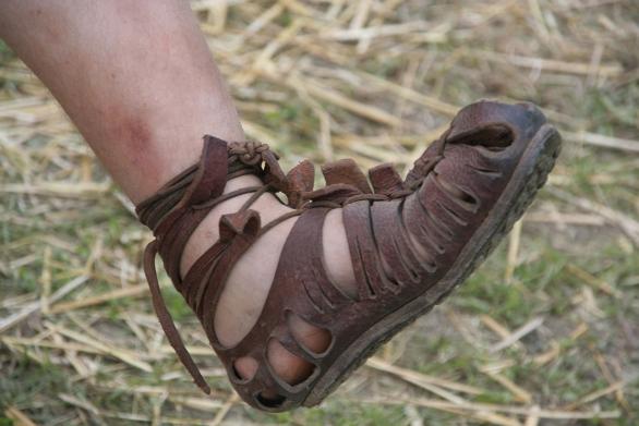 Foto: Římské sandály Caligae. / Public domain