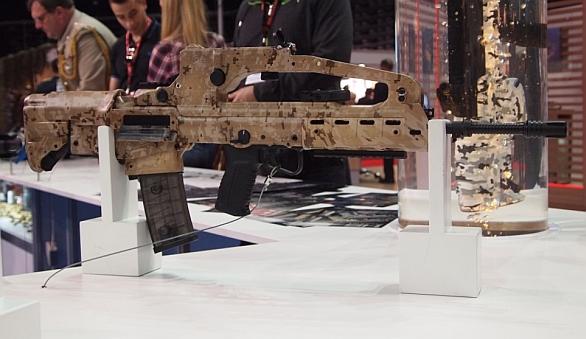 Foto: Úspěšným produktem chorvatského vojenského průmyslu je útočná puška VHS-2. / Archív autora