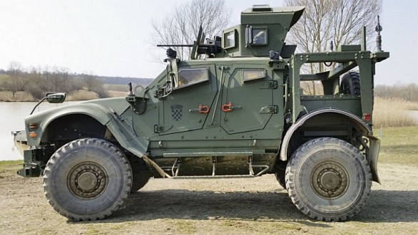 Foto: Oshkosh M-ATV chorvatské armády. / Igor Tabak
