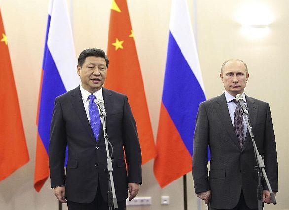 Čína Rusko