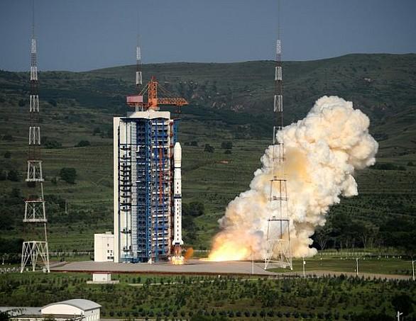 Čína vesmír