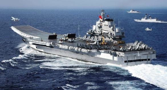 Foto: 3D Grafické znázornění provozu čínské letadlové lodi Liaoning. / chinadailymail.com