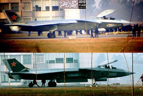 "J-20 ""Mocný drak"""