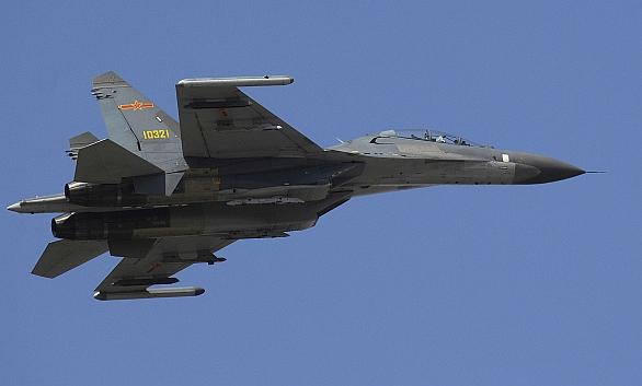 Foto: Shenyang J-11 je věrnou kopii Su-27. / U.S. Air Force